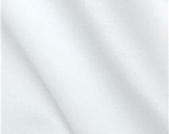 """Black Out Lining Add-on For 50"""" WIDE Curtain Panels, White"""