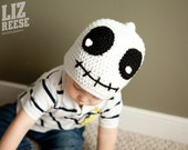 Ghoulish Ghost Beanie Hat