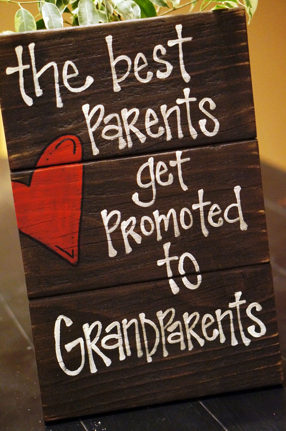 The Best Parents Get Promoted To Grandparents Reclaimed Wood