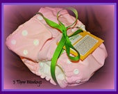 Pocket Cloth Diapers (One Size)