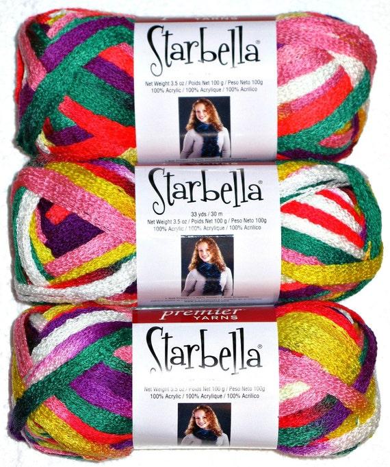 Free Crochet Patterns Using Starbella Yarn : Starbella Parrot by Premier Yarns Ruffle / Flounce Yarn