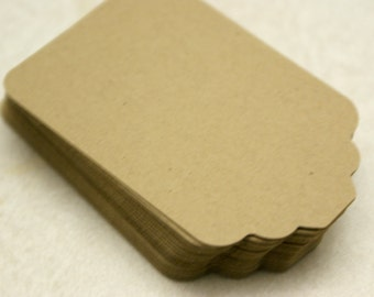 Blank Kraft Tags - Gift Tags (set of 50)