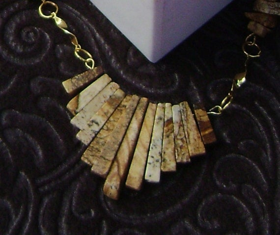 Picture Jasper that is picture perfect for your neckline.