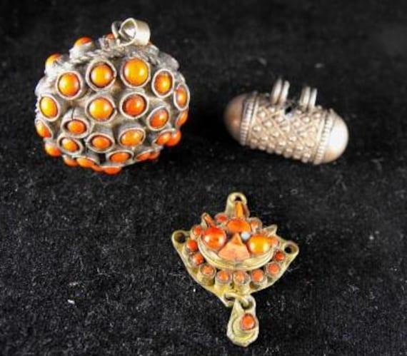 RESERVED For CLAUDIA:Destash Jewelry Lot Craft Repair Wear Tibetan Corals Beads