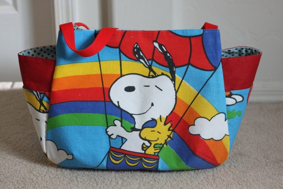 Diaper bag  snoopy  (Large)