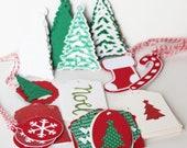 Christmas Tag Sale - Destash Sale - Christmas Tags - Gift Tags - Christmas Gift Tags