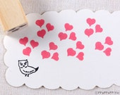 Heart Small Rubber Stamp