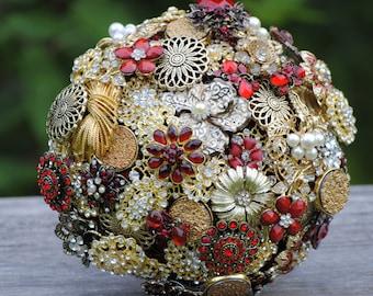 Deposit for Custom Brooch Bouquet