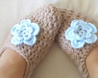 Slippers, Socks, Crochet Slipers, Women's Socks, Foot Wear, Handmade Socks, Winter Gifts,Christmas Socks, For Her Gifts