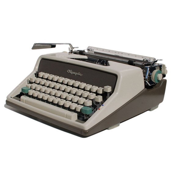 Revitalized Olympia SM7 De Luxe Typewriter Professionally Refurbished Portable & Two New Ribbons