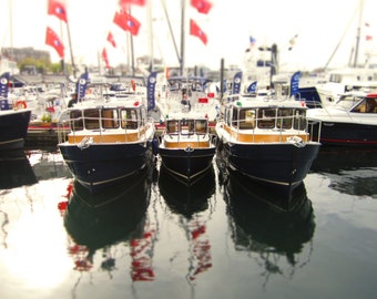Boats Victoria Canada 5x7