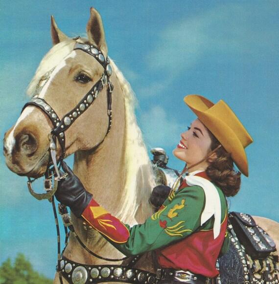 photos Vintage cowgirl