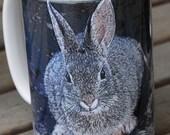 Desert Bunny Large Coffee Mug 15 Oz.
