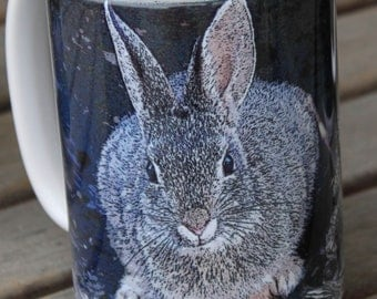 Desert Bunny Large Coffee Mug 15 Oz.