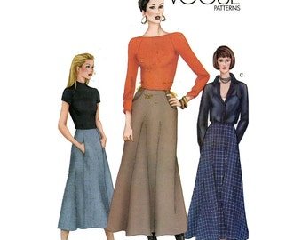 Vogue Sewing Pattern 7210 - Misses' Skirt (8-12)