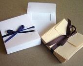 Envelope Mini in White or Cream - 50