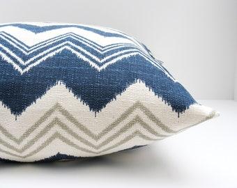 Decorative Pillows - Throw Pillow covers - Pillows - 18x18 Pillow covers - Blue Pillow - Burlap Pillow - Blue Gray Pillow - Accent Pillow