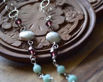 Swarovski Decennary Rosary Necklace