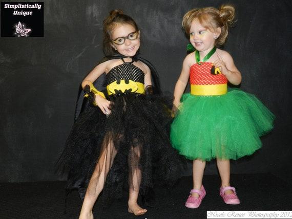 Batman and Robin Tutu Costume