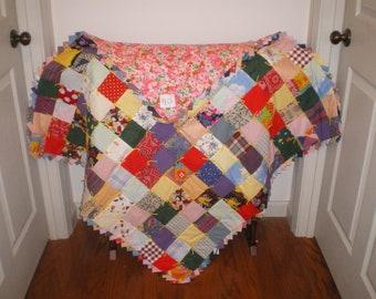 Baby girl quilt-40