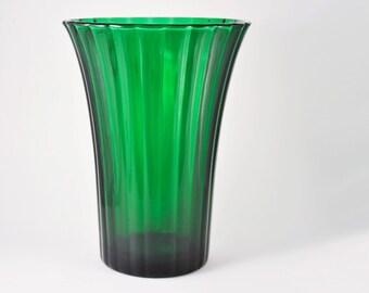 Vintage NAPCO Large Green Vase 1161