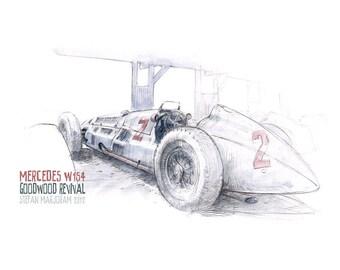 Mercedes W154 Print