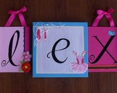 Name Canvas Painting Set