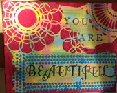 You are Beautiful Canvas