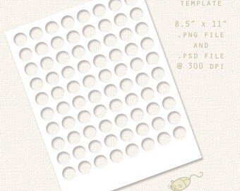 Kiss Label Template - For Party Kits, Small Business, Scrapbooking, Crafts