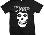 Misfits Ringspun T-Shirt Size S-XL