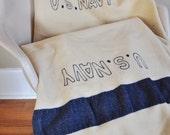Vintage US Navy Issue Wool Blanket