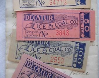 Antique Decatur Ice & Coal Tickets