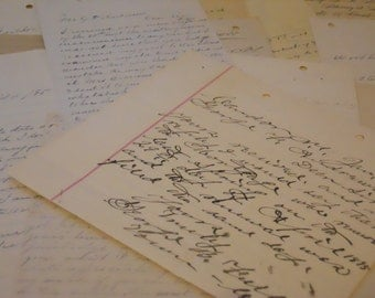 100 Year Old Beautiful Handwritten Letters