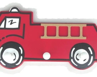 Fire Engine Clothes Hanger