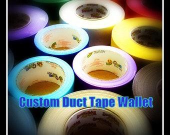 Custom Duct Tape Wallet