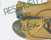 RESERVED FOR ALEX  Mustard City - The Architect Oxfords