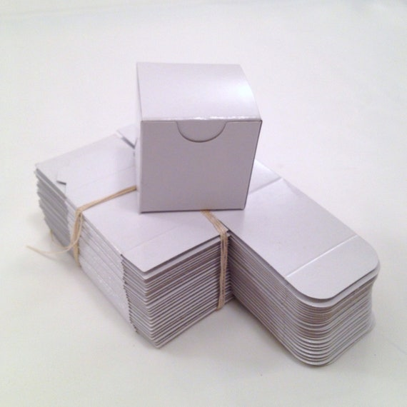 items similar to wedding favor boxes diy small white gift box set of