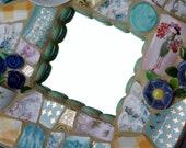 Pretty Lady, Tea Time Mosaic Wall Art