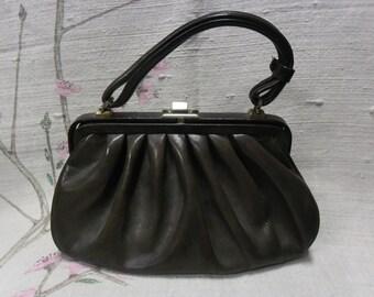 Leather 40's handbag