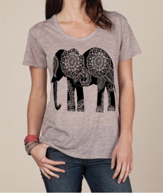items similar to womens paisley elephant boho bohemian