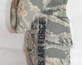 U.S. Air Force Fur Dog Harness - Size XXS, Xs, S, M