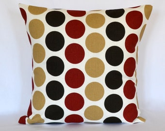 Pillow cover decorative pillow dot pillow 18 inches cushion cover premier prints
