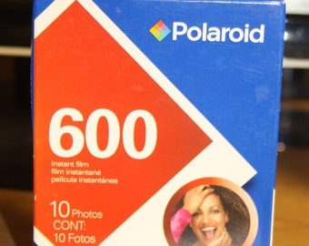 New Polaroid 600 Film Pack Cartridge Sealed exp. 2009 Fast & Free Shipping