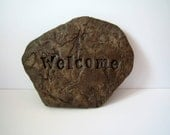 Welcome Sign Flat Rock