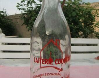 """1940 Vintage French """"Milk Bottle"""""""