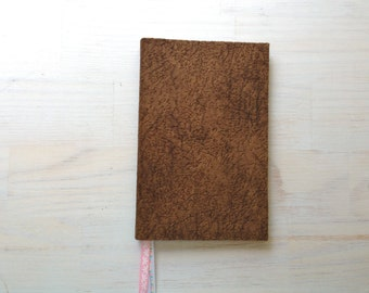 Notebook: Blank Journal, Unlined Journal, Brown, Paisley, Fun, Gift, For Her, For Him, Unique, Ribbons, Unlined, Sketchbook, One Of A Kind