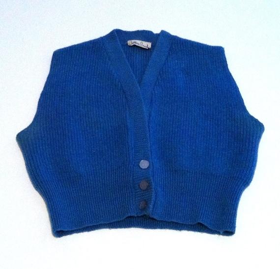 Bobbie Brooks Blue Vest Size XS