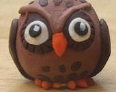 Owl Dreadlock Bead, Small.