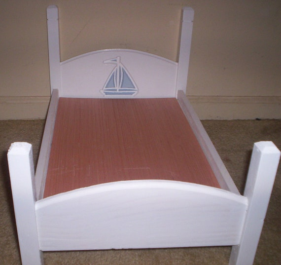 american doll size bed doll furniture by