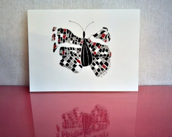 Broken Wing Butterfly set of 8 cards